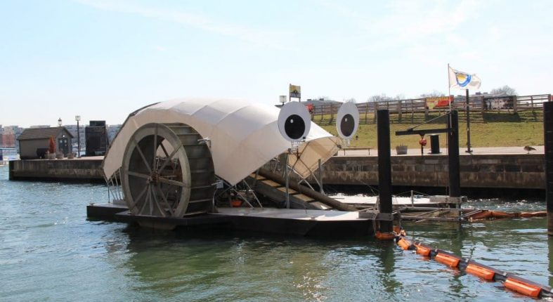 Everyone One Can Chip In -Mr. Trash Wheel Is A Great Reminder.